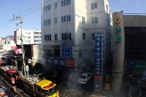 南韓醫院急症室大火 至少41死70人傷