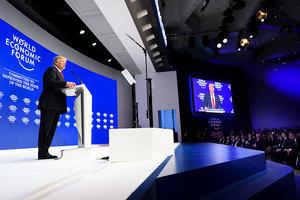 特朗普達沃斯講話後 全球股市上揚 美股創新高