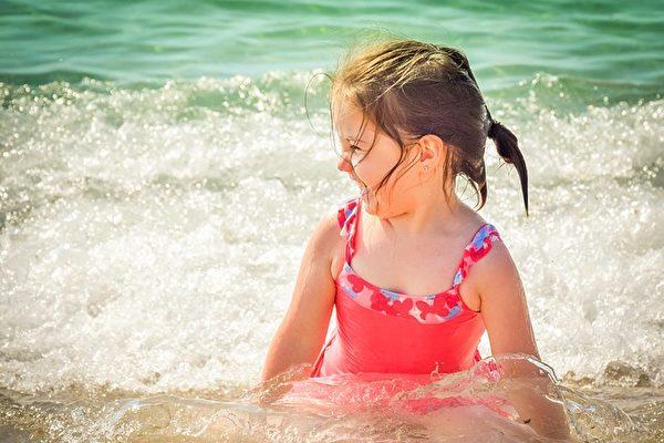 在維州,很多兒童因為曬傷而就醫。(Pixabay)