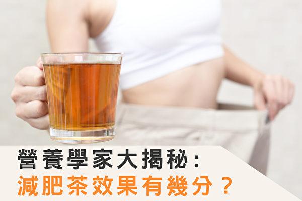 減肥茶真的有減肥的功效嗎?(Shutterstock/大紀元製圖)