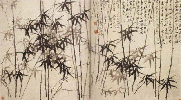 墨除了用于繪畫,還具有治療疾病的作用。圖為清代著名畫家鄭板橋的《墨竹圖》。(公有領域)