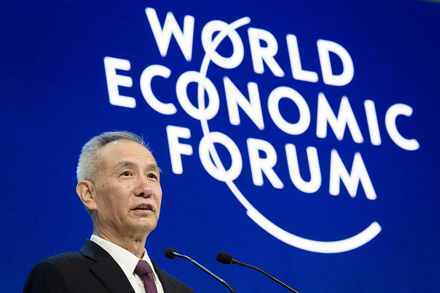 傳媒披露,習近平的「經濟智囊」劉鶴將任副總理,劉鶴可能會是中共近二十年來最強權的副總理之一。(FABRICE COFFRINI/AFP/Getty Images)