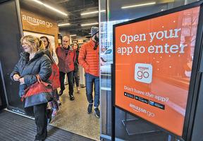 Amazon Go智能商店美國開業