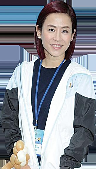 宣萱表示運動能助她改善體質。(網絡圖片)