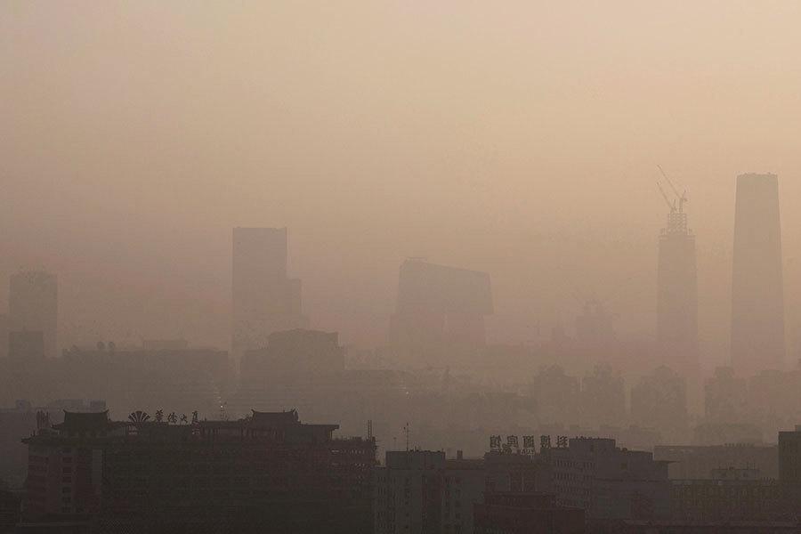 大陸空氣質量低標準下 僅二成七城市「達標」
