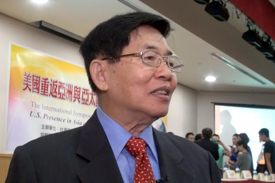 前國安會副秘書長張旭成談到,美國國務院、NGO官員都認為台灣民主、人權、宗教自由,應該成為亞洲國家的模範與燈塔。(維基百科公有領域)