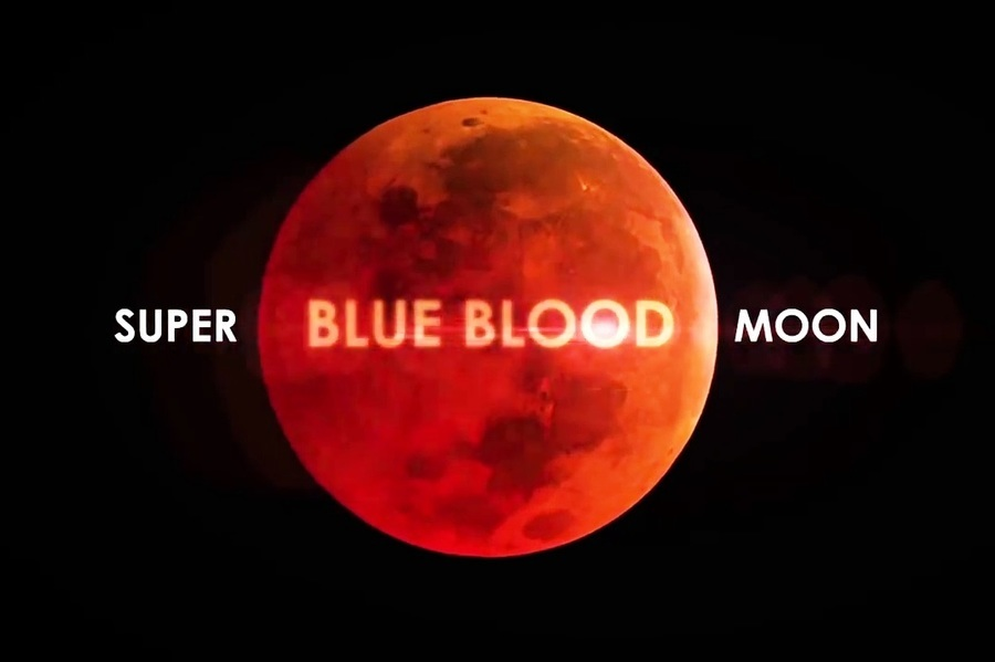 「超級藍血月」150年一遇 如何上網觀賞