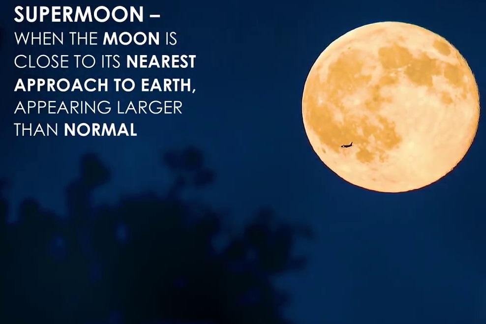月亮將離地球更近,因此更大、更圓、更亮。(NASA視像擷圖)