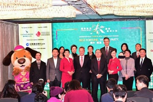 旅發局料15萬人 中國新年看花車匯演