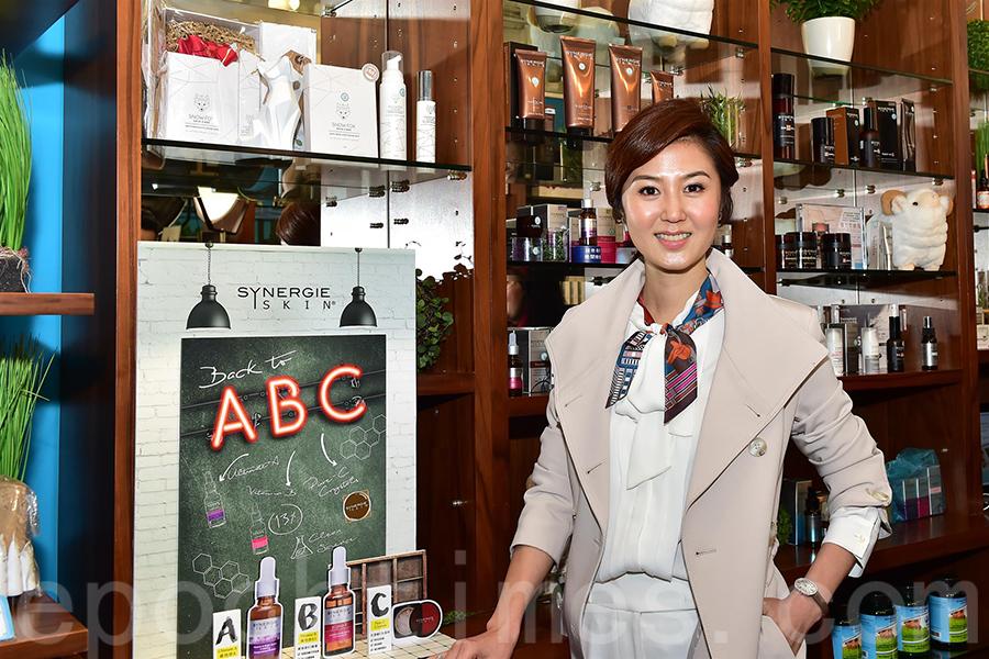 由前港姐袁彌明創辦的彌明生活百貨(08473-HK),將於下月12日在創業板上市。(郭威利/大紀元)