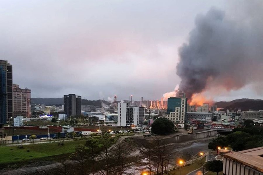 中油桃園煉油廠氣爆 三天內公佈調查報告