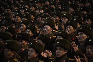 冬奧外交是偽裝 金正恩下令實戰軍演