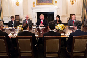 應對北韓伊朗威脅 特朗普:持續和安理會合作
