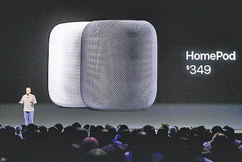 蘋果HomePod姍姍來遲 26日開始預訂  2月上市