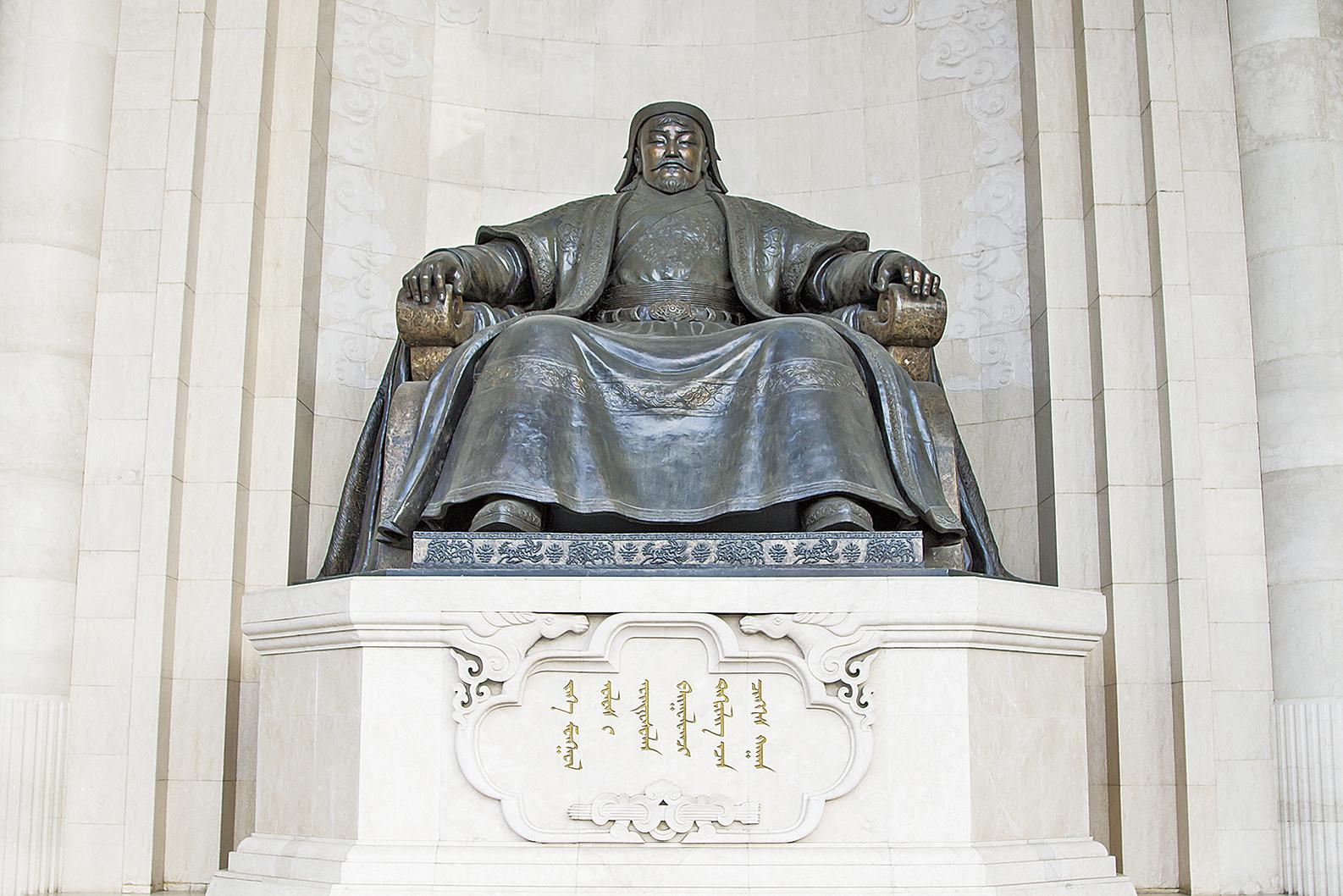 成吉思汗雕像。(shutterstock)