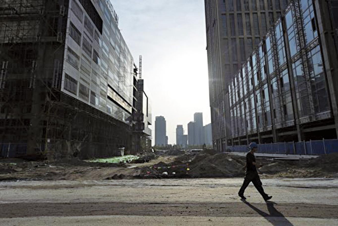 中國債務不會降低,引發了業界對其違約風險的擔憂。(Getty Images)