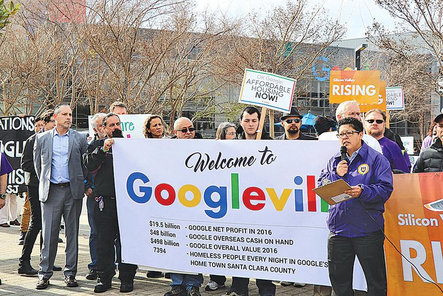 谷歌入住聖荷西 居民籲多建可負擔房
