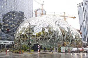 亞馬遜新「球體」大樓啟用