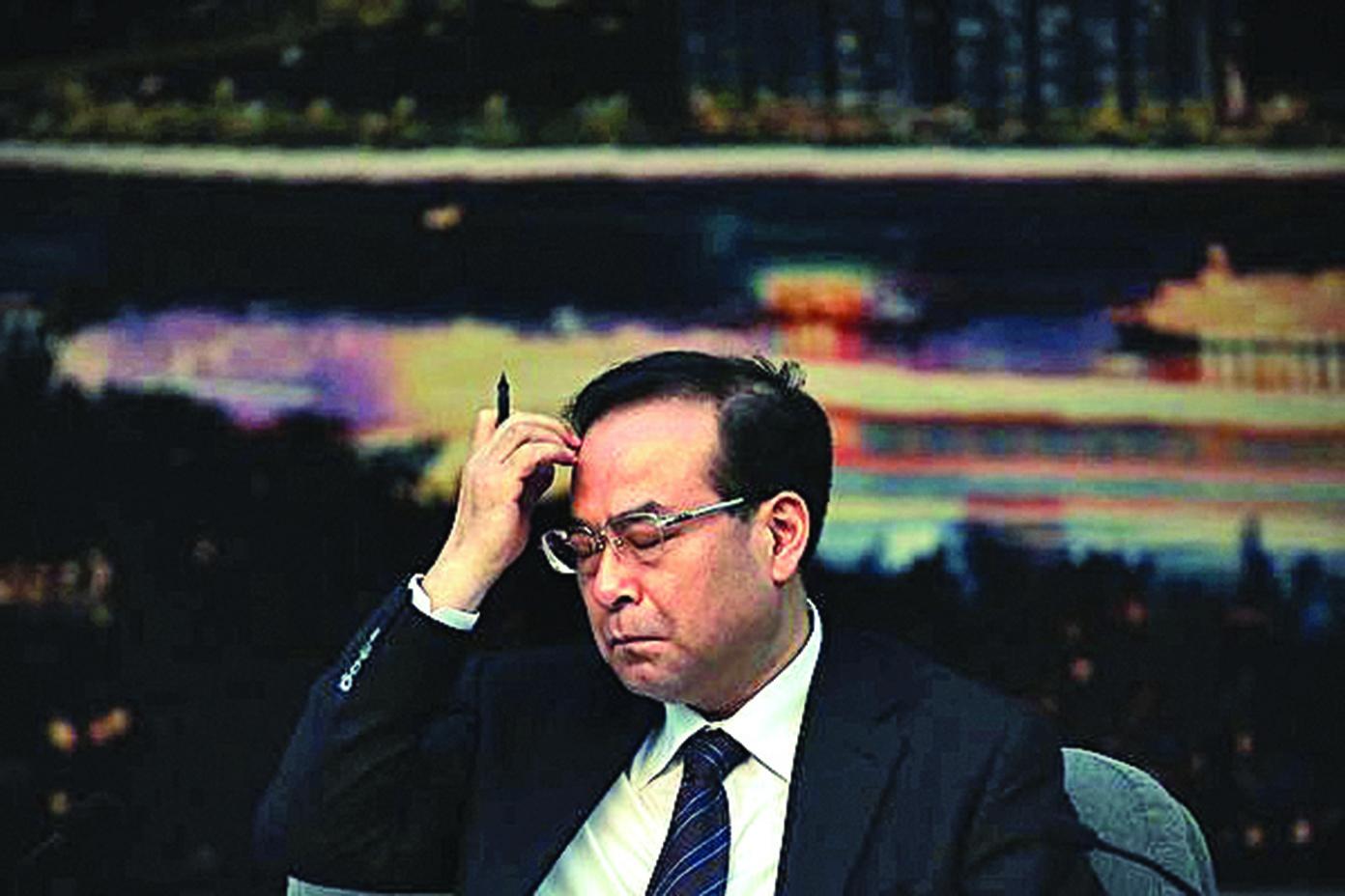 已落馬的前重慶市委書記孫政才。(AFP)