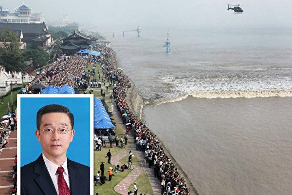 日前,浙江省嘉興市長胡海峰當選中共全國人大代表。(Getty Images/大紀元合成)