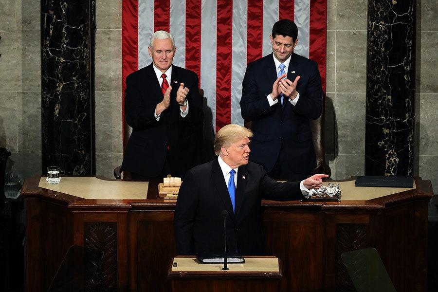 特朗普國情咨文譴責北韓人權 強調最大施壓