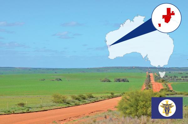 (右下圖)赫特河公國國旗。