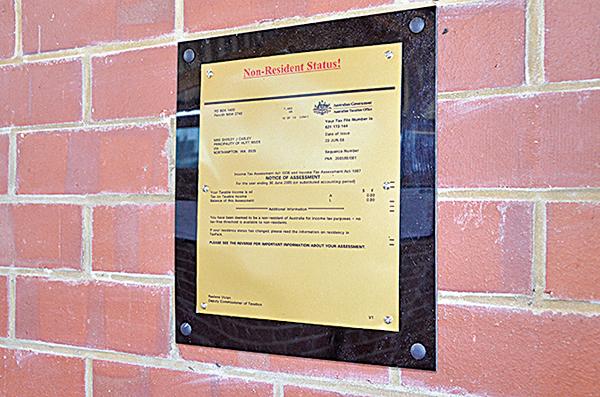 澳洲稅務局承認赫特河公國的非澳洲居民地位——不用向澳洲稅務局交稅。
