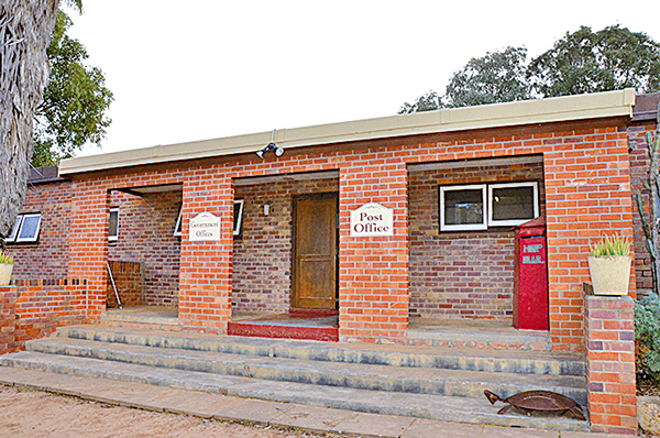 赫特河公國政府辦公室和郵局。