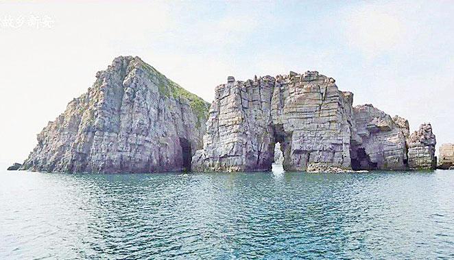 位於紅島的天然紀念品第170號。
