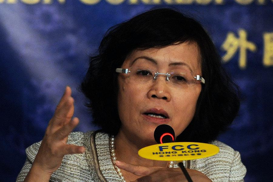被指職業生涯到頭 中國最危險女人:不是這樣