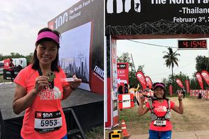 大帽山蓮姐赴泰參與國際山賽 榮獲組別季軍