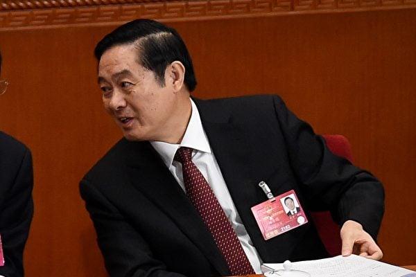 3月14日,中共前政治局委員劉奇葆(圖)被貶任政協副主席。5年前,令計劃也是從實權的中辦主任職位上被貶任政協副主席,令一年後被調查。(WANG ZHAO/AFP/Getty Images)