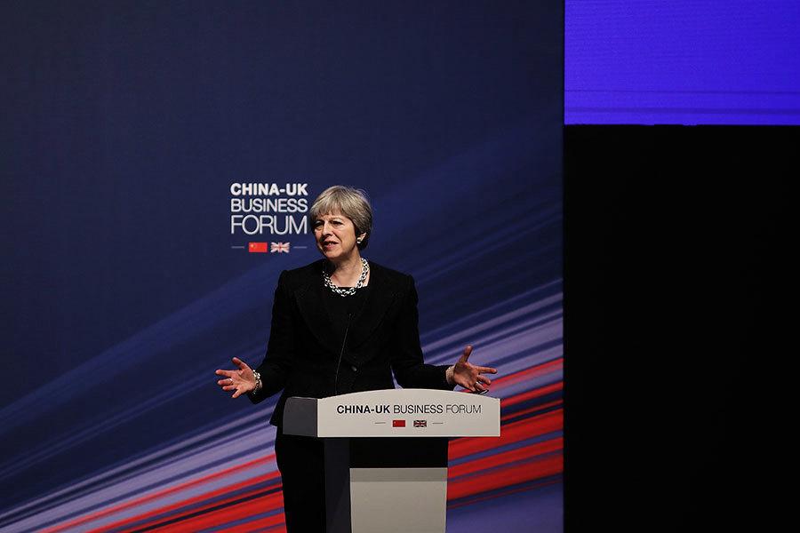 英國首相中國行:90億大單背後的擔憂