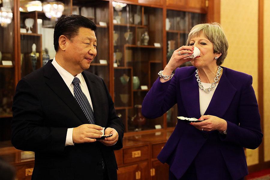 中英元首討論貿易壁壘 英國食品銀行進軍中國