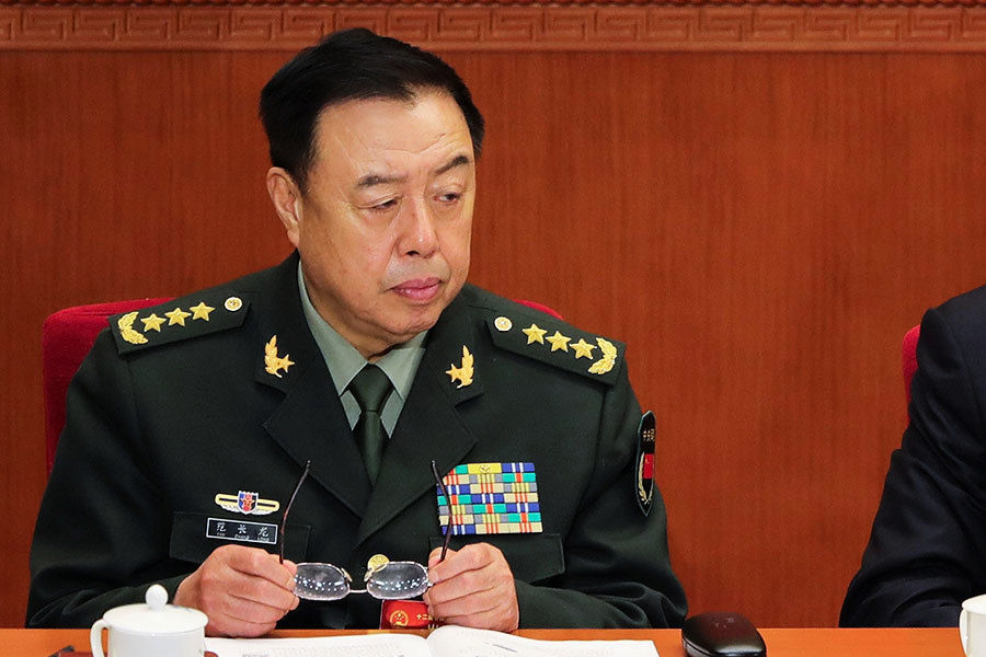 陳思敏:落馬前與習王正式合影的「老虎」