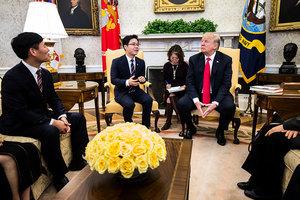 特朗普為何讓脫北者坐上國家元首的座席?