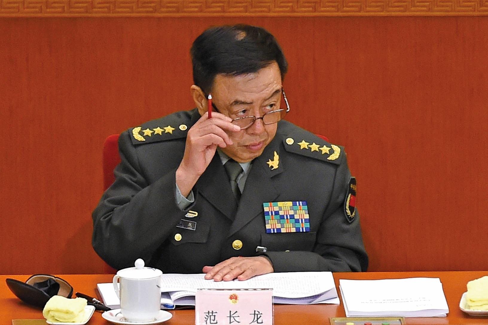 1月中旬,中共軍委副主席范長龍已被立案審查的消息紛傳。范長龍可能也涉及政變。(大紀元資料室)