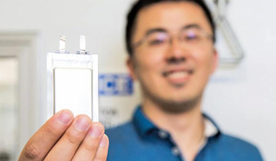 無負極鋰金屬電池商業化 (首批客戶是無人飛機 )
