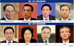 兩會高層人事擬定 副主席副總理名單流出