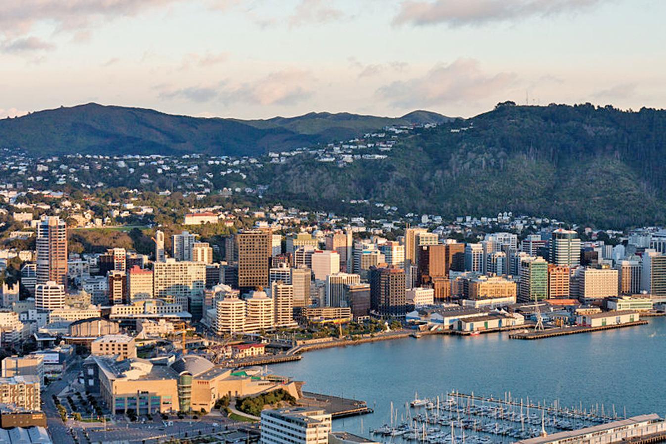 紐西蘭首都威靈頓一隅。(維基百科)