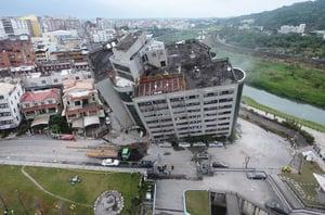 台花蓮強震 大陸遊客至少4人遇難5人失蹤