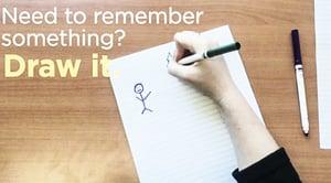 研究:圖像強化記憶 怕忘事最好畫下來