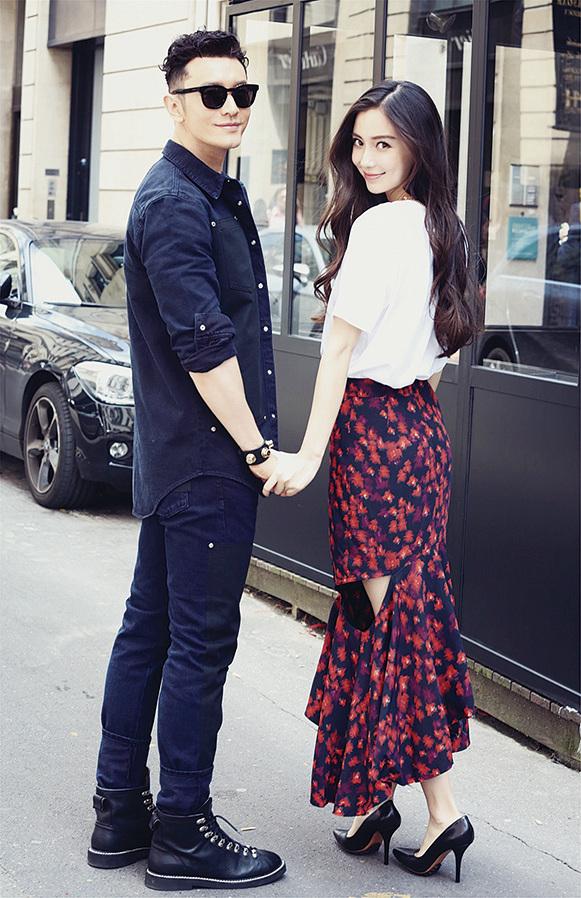 Angelababy與老公黃曉明會在青島過年,因為當地很有過年氣氛。(大紀元資料圖片)