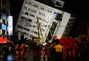 台灣地震 美加日英歐盟等慰問 願提供協助