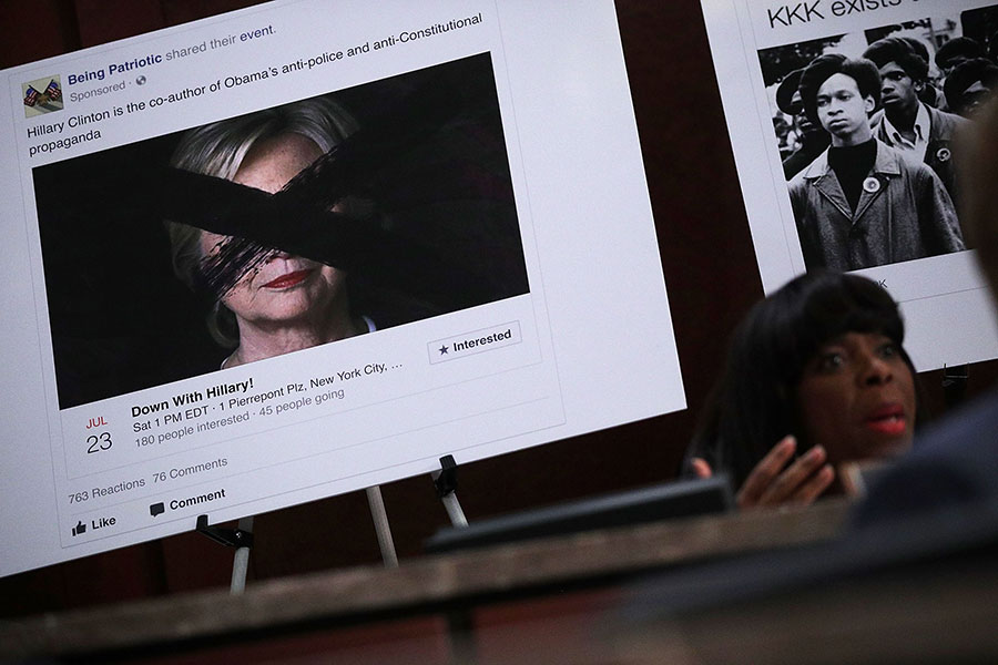 周一,美國兩名共和黨參議員公佈一份調查備忘錄,提到希拉莉同夥提供材料給編撰特朗普總統通俄黑檔作者,並指該作者向聯邦調查局作虛假陳述,要求司法部展開刑事調查。(Alex Wong/Getty Images)