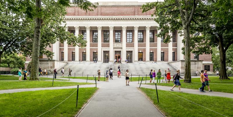 《美國新聞與世界報道》公布《2018年全球最優大學排名》,哈佛大學再次奪冠。圖為哈佛大學校園。(Fotolia)