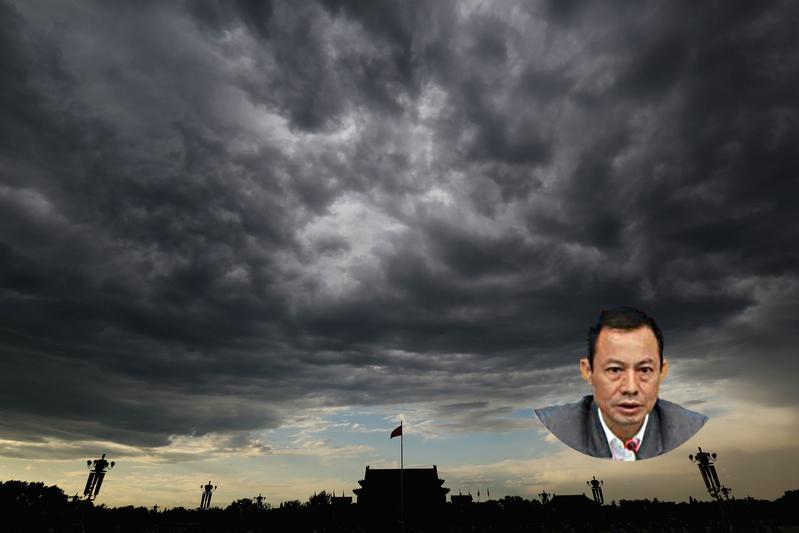 2016年7月15日,中共廣東省委第六巡視組組長劉志偉落馬。(Getty Images/大紀元合成)
