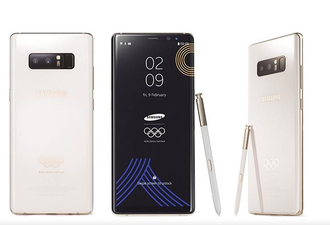 作為平昌冬奧會官方贊助商,三星電子將向參加本屆冬奧的體育代表團和奧委會工作人員贈送4,000部奧運版Galaxy Note8手機,但北韓運動員不在其中。(三星官網)