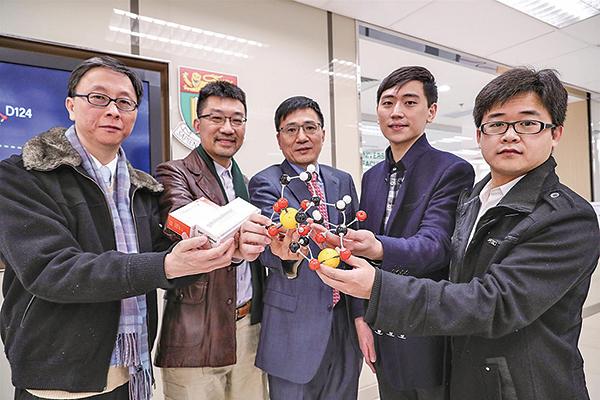 港大理學院和醫學院微生物學系組成的研究團隊,成功研發出一種抗菌藥,可把超強耐藥性細菌抑壓為普通細菌。(余鋼/大紀元)
