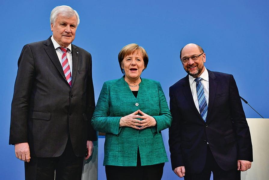 默克爾讓步德國組閣達協議